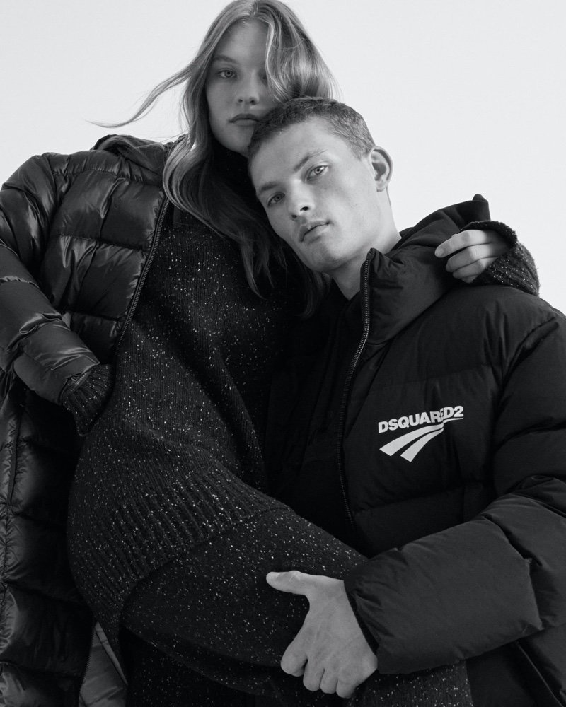 Agnes Akerlund and William Los appear in Stylebop's fall-winter 2020 Studio campaign.
