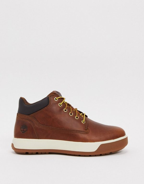 Timberland leather tenmile chukka boots in brown