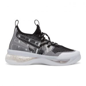 Valentino Black and White Valentino Garavani Cloudknit Air Sneakers
