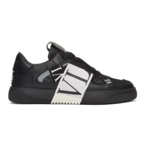 Valentino Black and White Valentino Garavani VL7N Sneakers