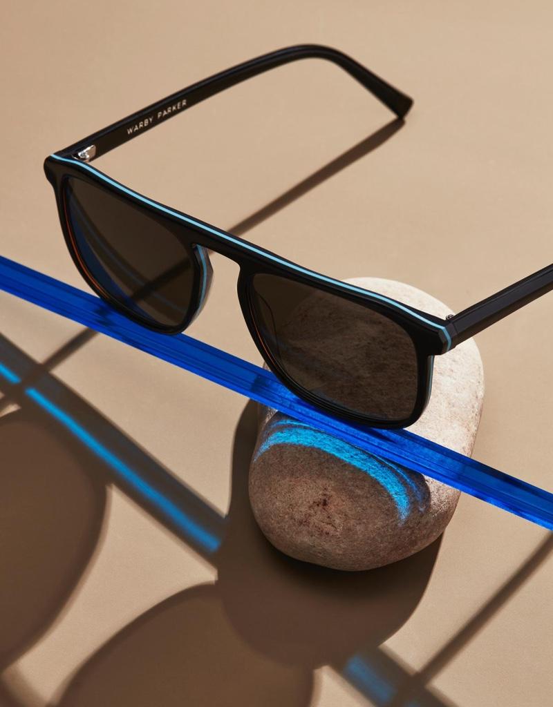 Warby Parker Lyon sunglasses in Black Sky Eclipse