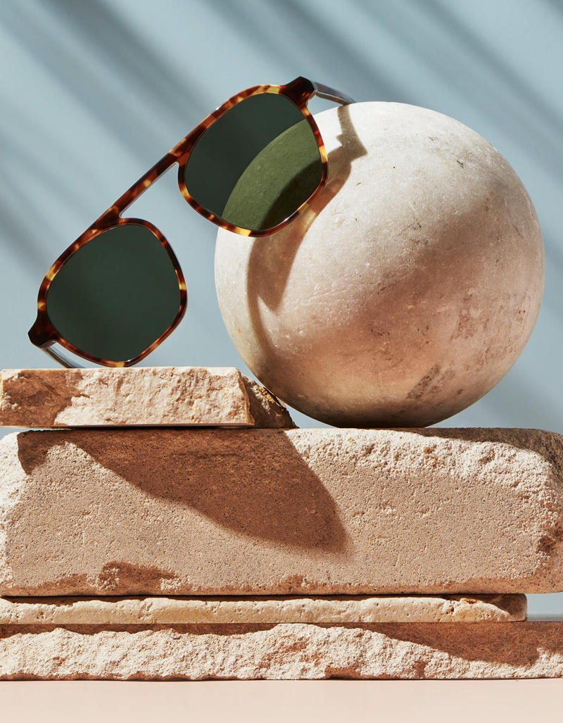 Warby Parker Dorian sunglasses in Root Beer