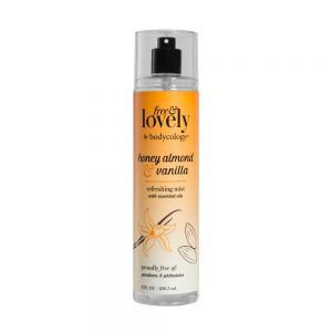 bodycology Women's Free And Lovely Honey Almond And Vanilla Mist - 8 fl oz