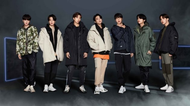 BTS fronts FILA's Project 7 Collection campaign.
