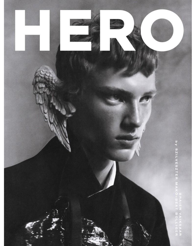 Braien Stars in Ethereal HERO Cover Story