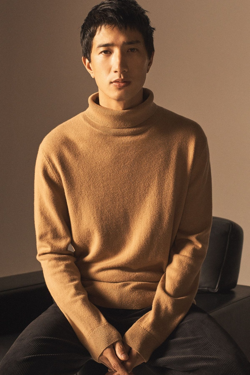 Henry & Nathaniel Front COS Holiday '20 Campaign