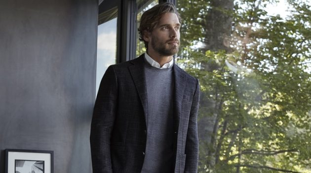 Canali Chases Beauty with Elegant Menswear