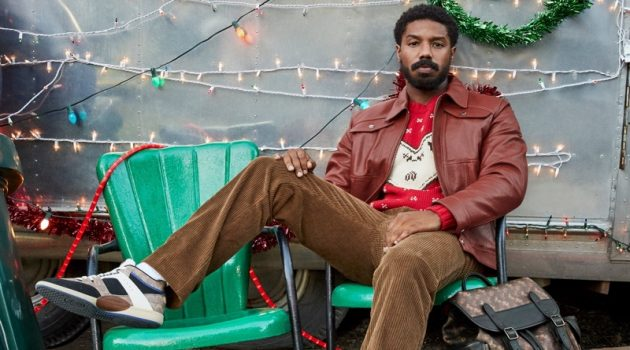 Michael B. Jordan fronts Coach's holiday 2020 campaign.