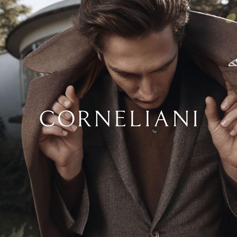 Joel, Anatol & Leo Embrace Sartorial Style in Corneliani Campaign