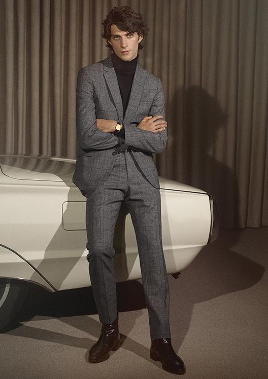 Matthew Channels '70s Elegance in De Fursac
