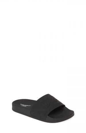 Dolce & gabbana Logo Slide Sandal