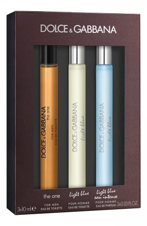Dolce & gabbana Travel Size Light Blue Men's Fragrance Set (USD $87 Value), Size - One Size