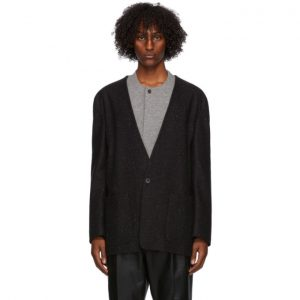 Fear of God Ermenegildo Zegna Black Wool One-Button Blazer