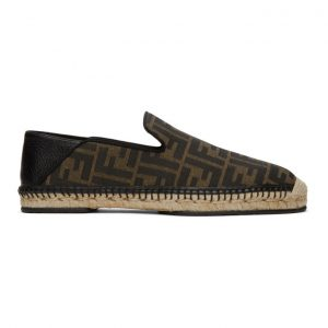 Fendi Brown Forever Fendi Espadrilles