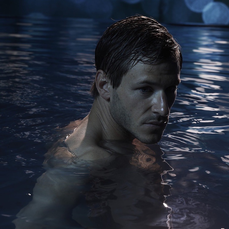 French actor Gaspard Ulliel fronts the Bleu de Chanel fragrance campaign.