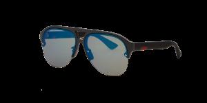 Gucci Man GG0170S - Frame color: Black, Lens color: Blue, Size 59-13/145