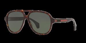 Gucci Man Gg0463s - Frame color: Tortoise, Lens color: Grey-Black, Size 58-13/150