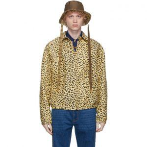 Gucci Reversible Brown GG Bucket Hat