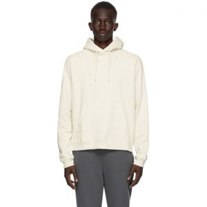 John Elliott Off-White Faded Hoodie