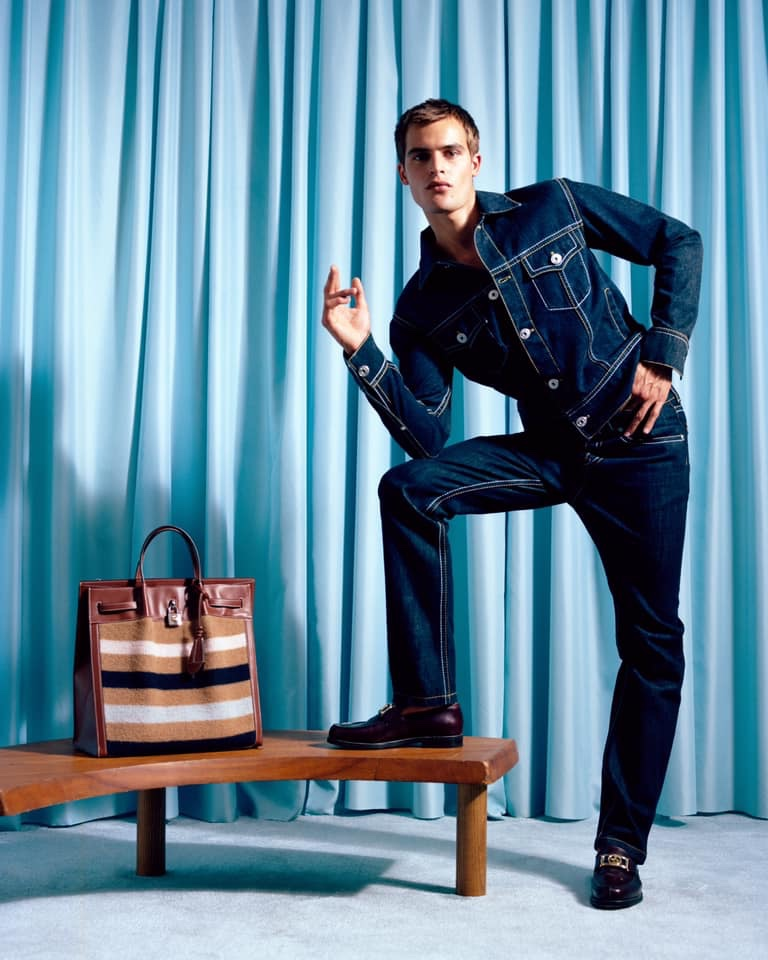 Parker Models Must-Have Fashions for Lanvin Campaign