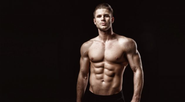 Male Model Six Pack Shirtless Fitness
