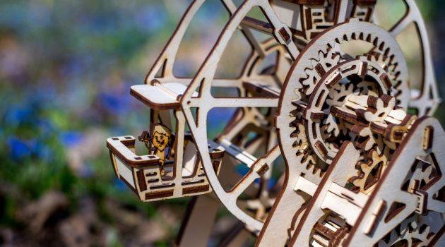 Mechanical 3D Wooden Puzzle