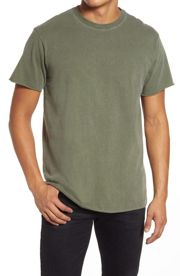 Men's John Elliott Anti Expo Raw Edge T-Shirt, Size X-Small - Green