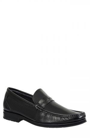 Men's Sandro Moscoloni Cesar Penny Loafer, Size 13 D - Black
