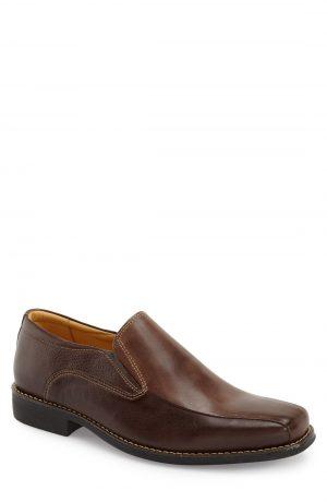 Men's Sandro Moscoloni 'Jacobs Venetian' Slip-On, Size 12 D - Brown