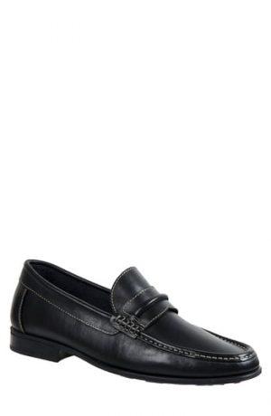 Men's Sandro Moscoloni Penny Loafer, Size 8.5 D - Black