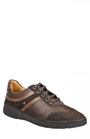 Men's Sandro Moscoloni Toby Sneaker, Size 7.5 D - Brown