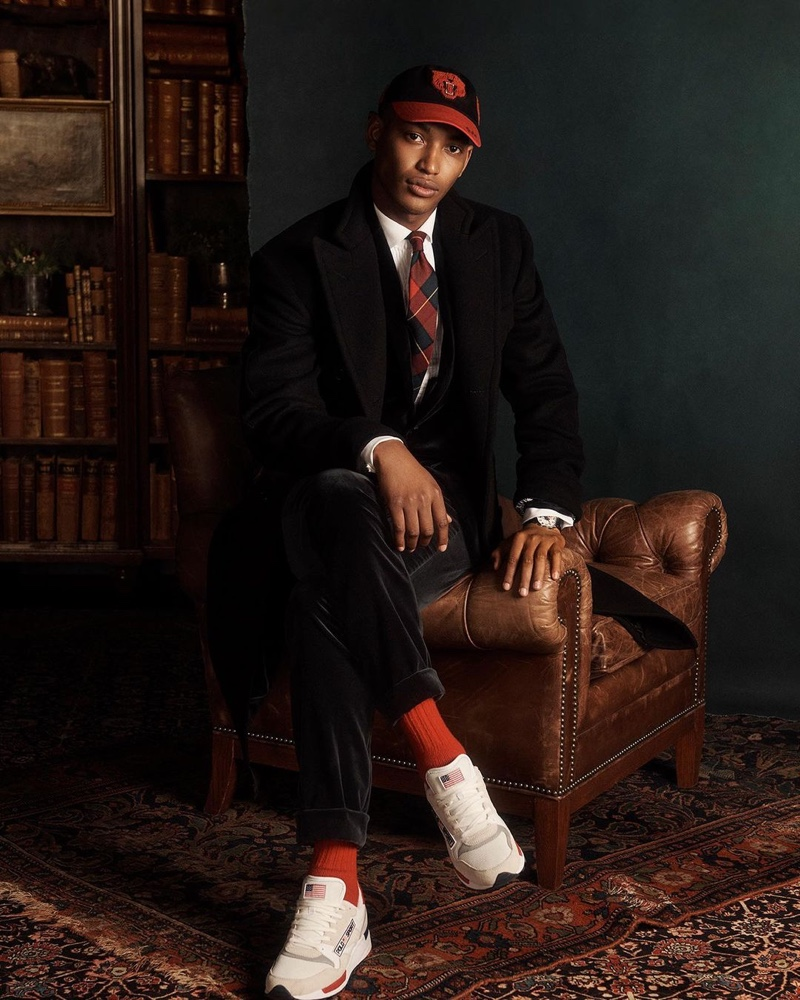 Roberto, Timothy + More Dress Up in POLO Ralph Lauren Holiday '20 Collection
