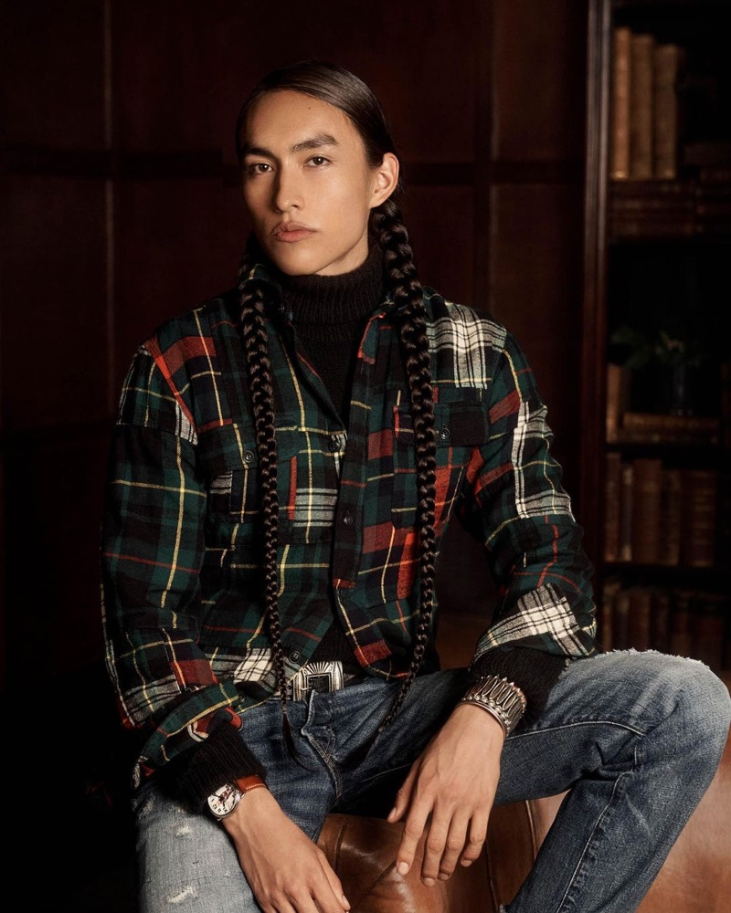 Abel, Hamid, Phillip + More Inspire in Holiday Looks from POLO Ralph Lauren