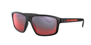 Prada Linea Rossa Man PS 02XS - Frame color: Black, Lens color: Grey-Black, Size 60-15/145