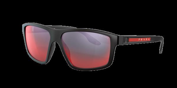 Prada Linea Rossa Man PS 02XS - Frame color: Black, Lens color: Grey-Black, Size 60-15/145
