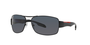 Prada Linea Rossa Man PS 53NS - Frame color: Black, Lens color: Polarized Grey Gradient, Size 65-16/130