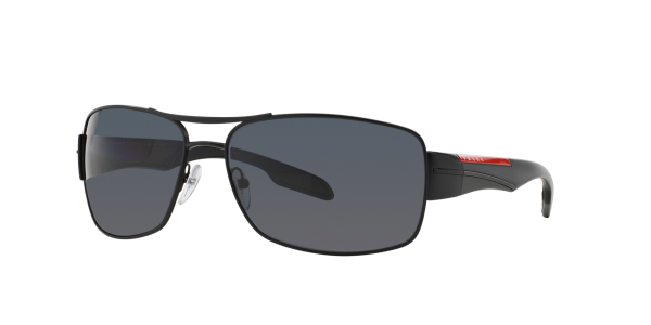 Prada Linea Rossa Man PS 53NS - Frame color: Black, Lens color: Polarized Grey Gradient, Size 65-16/130