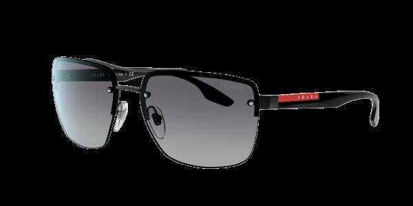 Prada Linea Rossa Man PS 60US - Frame color: Multicolor, Lens color: Grey-Black, Size 62-16/140
