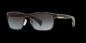 Prada Man PR 51OS - Frame color: Black, Lens color: Polarized Grey Gradient, Size 58-17/140