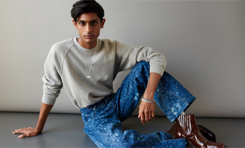 The Finer Things: Pratik Models Chic Accessories for MatchesFashion