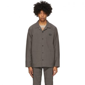 Saturdays NYC Grey Lido Utility Jacket