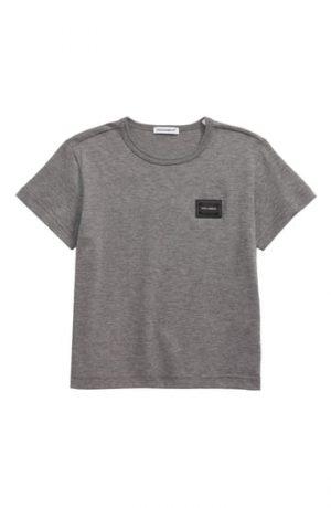 Toddler Boy's Dolce & gabbana Logo Patch T-Shirt