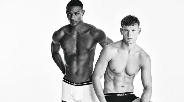 Elliott & Shawn Go Sporty for BOSS Bodywear Campaign