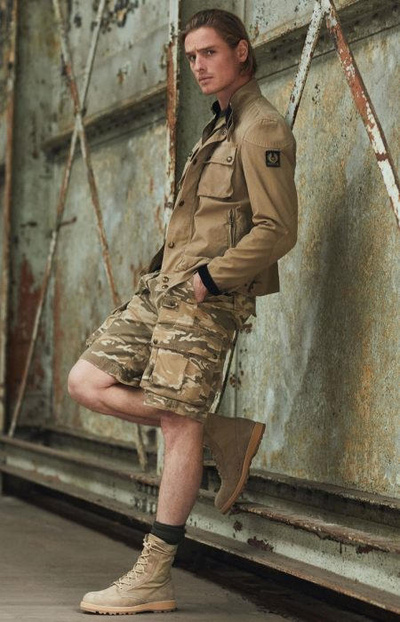 Belstaff Champions Military-Inspired Style