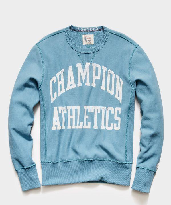 Champion Athletics Sweatshirt in Bluestone