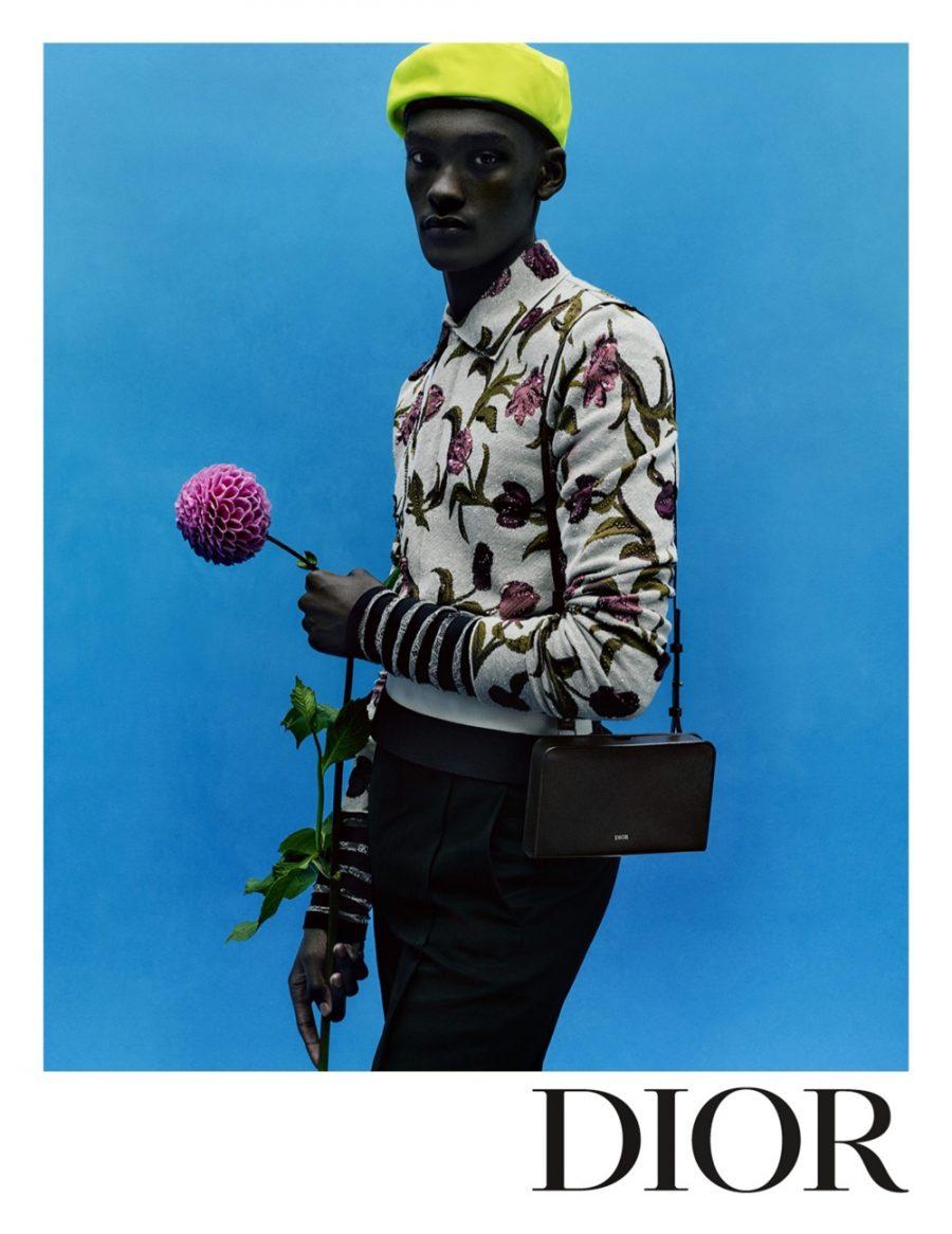 Samer Rahma appears in Dior Men's spring-summer 2021 campaign.