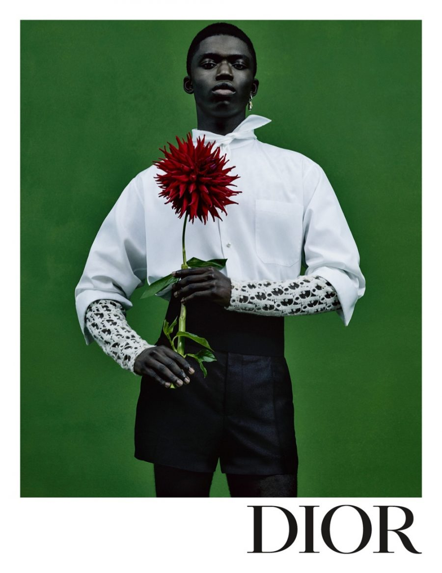 Jeremiah Berko Fordjour stars in Dior Men's spring-summer 2021 campaign.