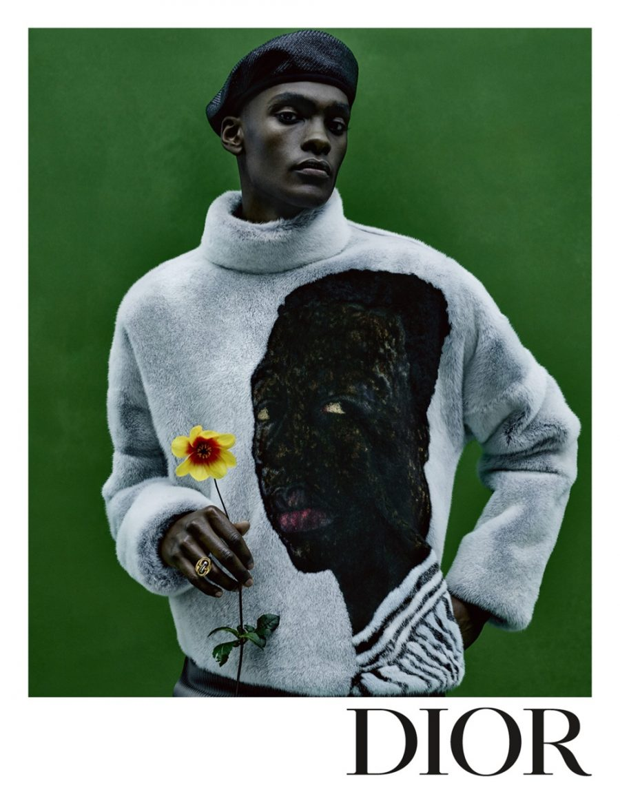 Dior Men enlists model Samer Rahma as the star of its spring-summer 2021 campaign.