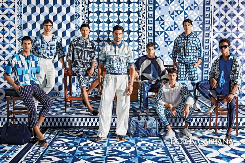 Branislav Simoncik photographs Dolce & Gabbana's spring-summer 2021 men's campaign.