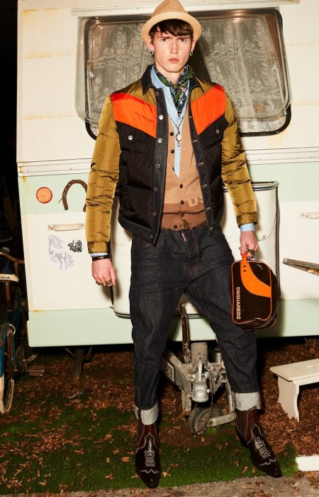 Dsquared2 Proposes Fun with Trailer Chic Fall